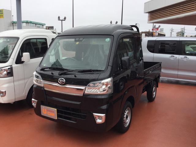 沖縄の中古車 ダイハツ ハイゼットトラック 車両価格 129万円 リ済別 2020(令和2)年 6km ブラックマイカM