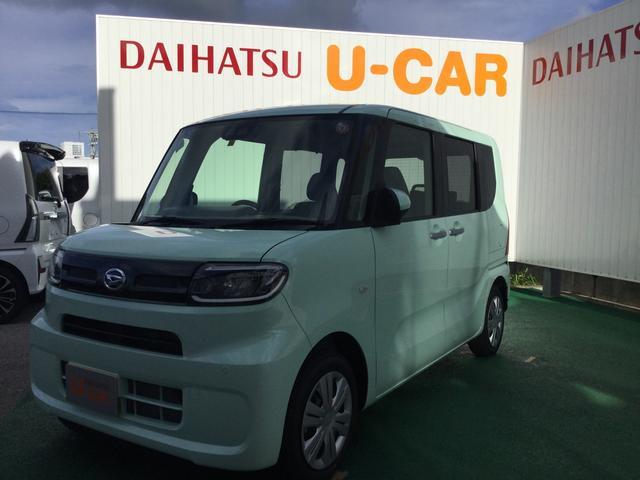 沖縄の中古車 ダイハツ タント 車両価格 146万円 リ済別 2019(令和1)年 3km アイスグリーン