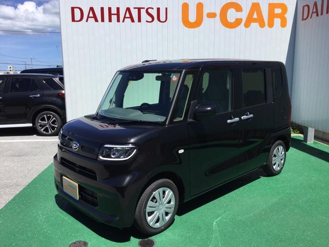 沖縄の中古車 ダイハツ タント 車両価格 151万円 リ済別 2019(令和1)年 3km ブラックマイカM
