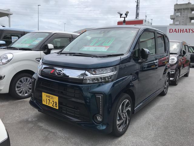 沖縄の中古車 ダイハツ ムーヴ 車両価格 170万円 リ済別 2019(令和1)年 0.4万km レーザーブルークリスタルシャイン