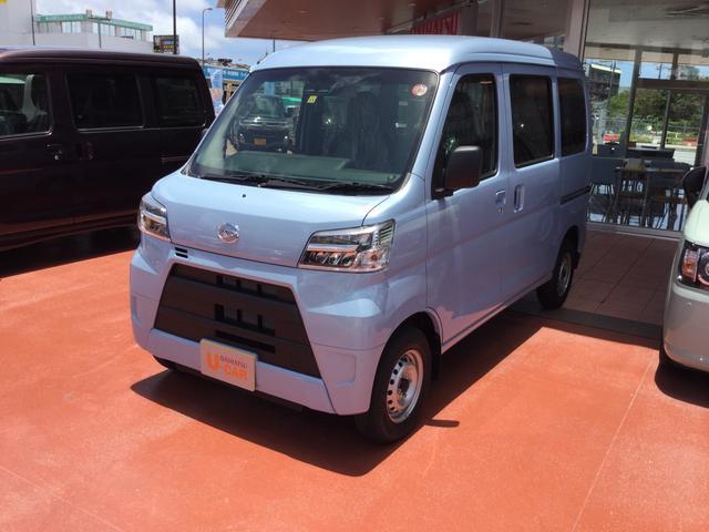 沖縄県浦添市の中古車ならハイゼットカーゴ DX SAIII