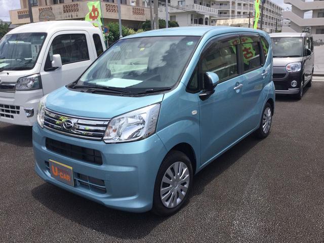 沖縄の中古車 ダイハツ ムーヴ 車両価格 119万円 リ済別 2020(令和2)年 7km スカイブルーM