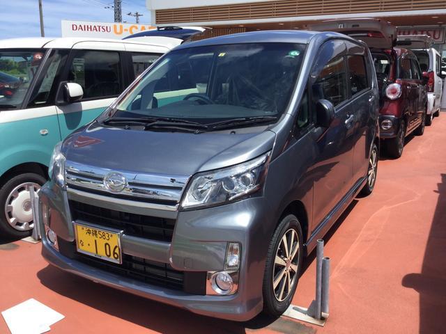沖縄の中古車 ダイハツ ムーヴ 車両価格 88万円 リ済別 2013(平成25)年 1.0万km タングステングレーM