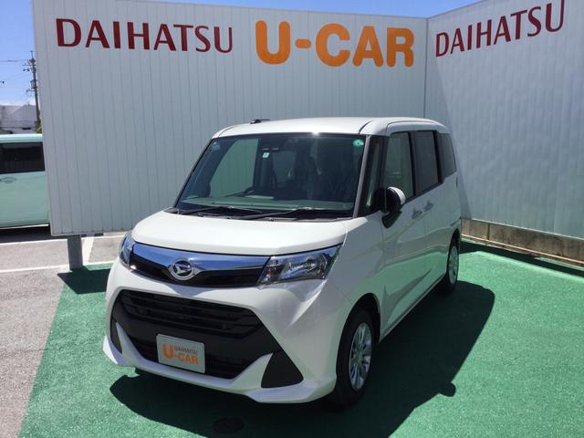 沖縄の中古車 ダイハツ トール 車両価格 173万円 リ済別 2020(令和2)年 3km パールホワイト3