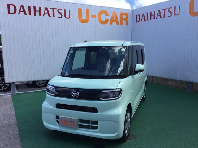 沖縄の中古車 ダイハツ タント 車両価格 150万円 リ済別 2020(令和2)年 0.2万km アイスグリーン