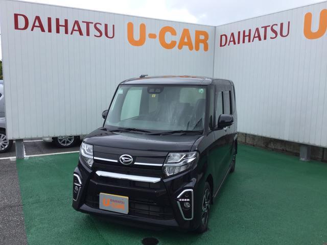 沖縄の中古車 ダイハツ タント 車両価格 174万円 リ済別 2020(令和2)年 0.2万km パールブラック