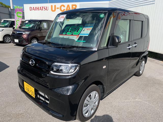 沖縄の中古車 ダイハツ タント 車両価格 150万円 リ済別 2020(令和2)年 0.4万km ブラックマイカM