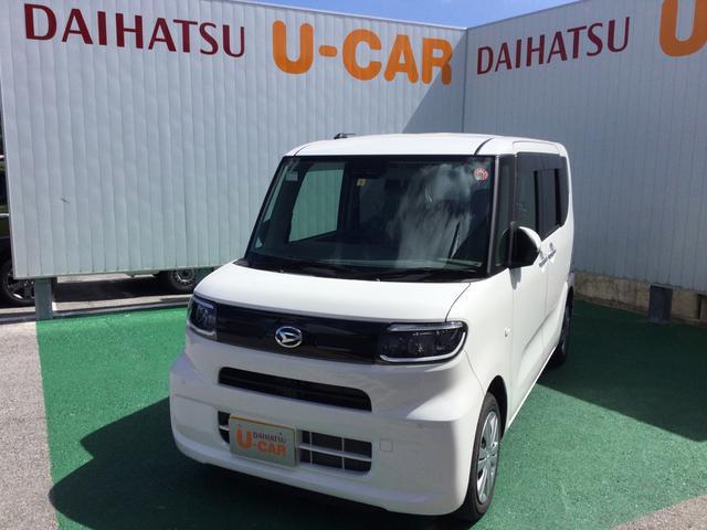 沖縄の中古車 ダイハツ タント 車両価格 157万円 リ済別 2019(令和1)年 0.2万km ホワイト