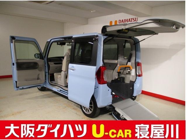ダイハツ スロ-パ- X SAIII リヤシート付 8インチナビ