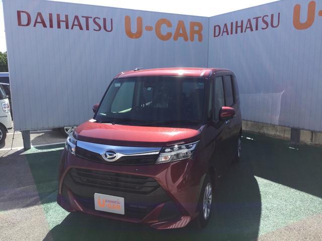 沖縄の中古車 ダイハツ トール 車両価格 173万円 リ済別 2020(令和2)年 5km ファイアークォーツレッドM