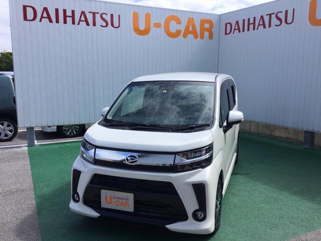 沖縄の中古車 ダイハツ ムーヴ 車両価格 148万円 リ済別 2018(平成30)年 0.8万km パールホワイト3