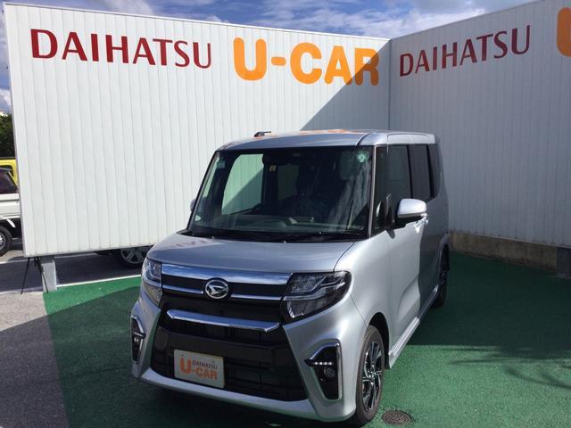 沖縄の中古車 ダイハツ タント 車両価格 172万円 リ済別 2020(令和2)年 8km ブライトシルバーM
