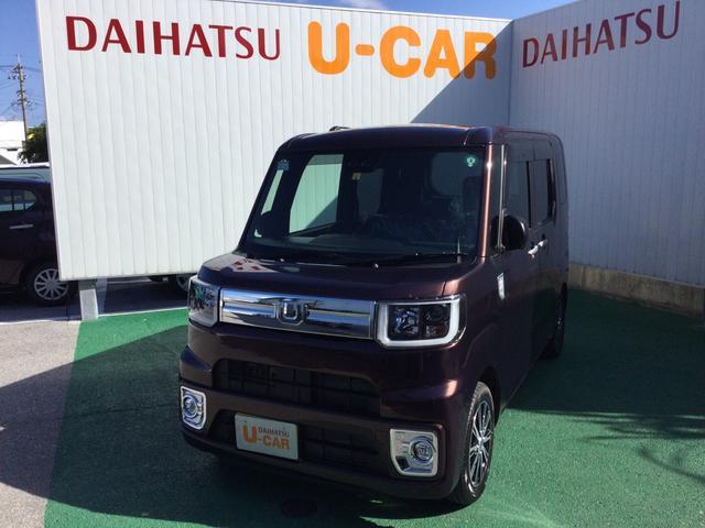 沖縄の中古車 ダイハツ ウェイク 車両価格 172万円 リ済別 2020(令和2)年 7km プラムブラウンクリスタルマイカ