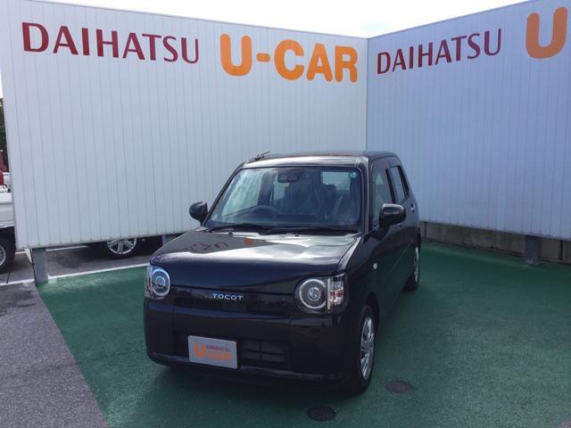 沖縄の中古車 ダイハツ ミラトコット 車両価格 109万円 リ済別 2020(令和2)年 0.2万km ブラックマイカM