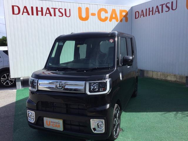 沖縄の中古車 ダイハツ ウェイク 車両価格 174万円 リ済別 2019(令和1)年 8km ブラックマイカM