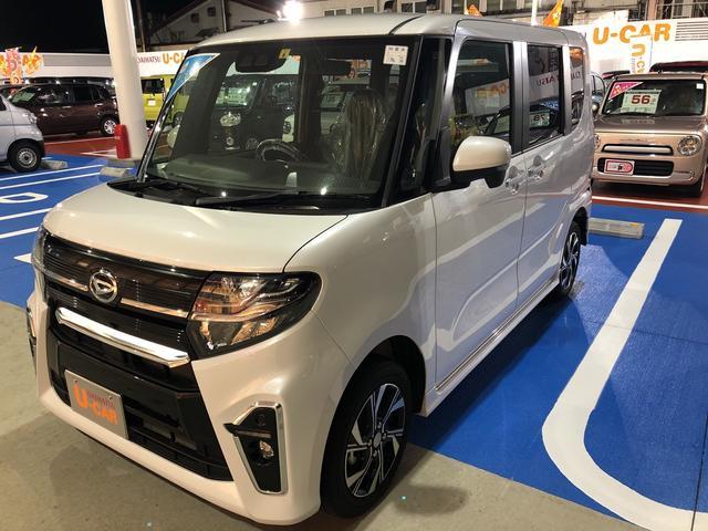 ダイハツ カスタムX  4WD・両側電動スライド・シートヒーター