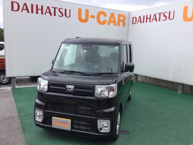 沖縄の中古車 ダイハツ ウェイク 車両価格 158万円 リ済別 2020(令和2)年 8km ブラックマイカM