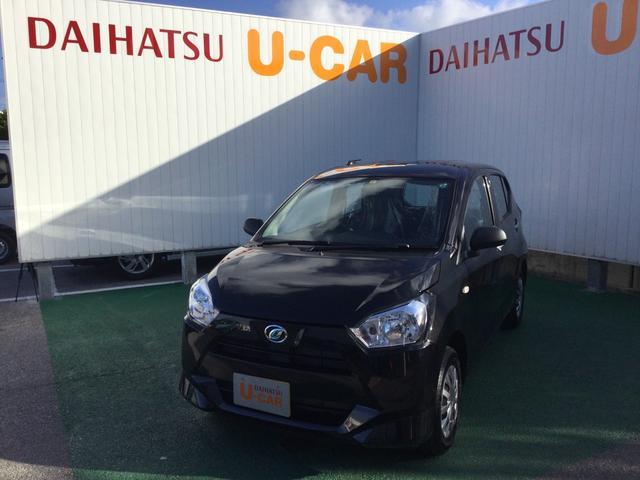 沖縄の中古車 ダイハツ ミライース 車両価格 89万円 リ済別 2020(令和2)年 6km ブラックマイカM