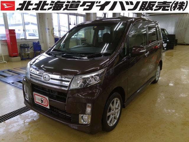 ダイハツ カスタム X SA 4WD 純正ナビ エンジンスターター