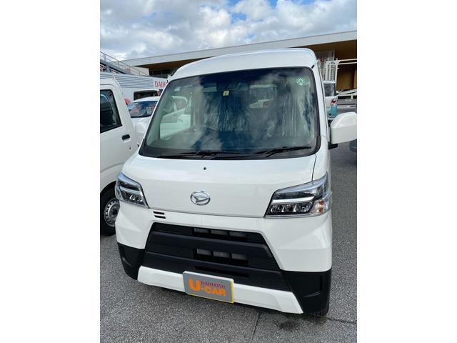 沖縄の中古車 ダイハツ ハイゼットカーゴ 車両価格 127万円 リ済別 2020(令和2)年 5km ホワイト