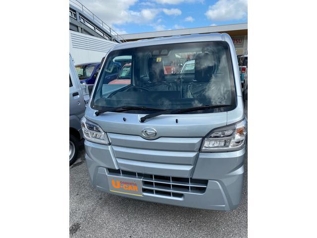 沖縄の中古車 ダイハツ ハイゼットトラック 車両価格 106万円 リ済別 2020(令和2)年 7km ブライトシルバーM