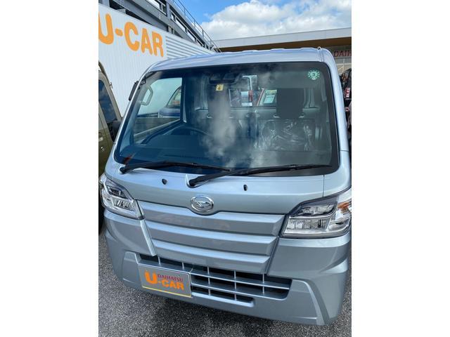 沖縄の中古車 ダイハツ ハイゼットトラック 車両価格 101万円 リ済別 2020(令和2)年 5km ブライトシルバーM