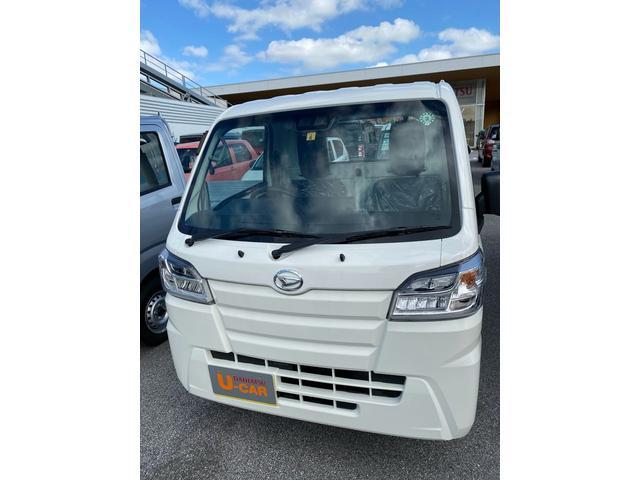 沖縄の中古車 ダイハツ ハイゼットトラック 車両価格 116万円 リ済別 2020(令和2)年 4km ホワイト