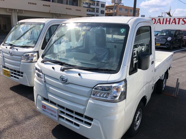 沖縄の中古車 ダイハツ ハイゼットトラック 車両価格 104万円 リ済別 2020(令和2)年 5km ホワイト