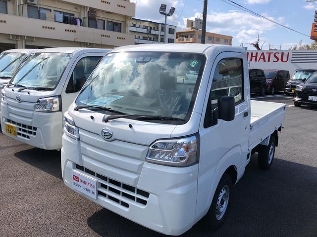 沖縄県うるま市の中古車ならハイゼットトラック スタンダードSAIIIt 4WD 4AT スマアシ付き!