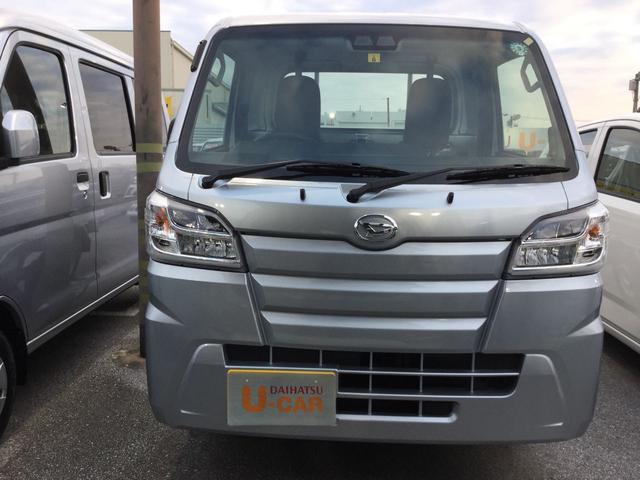 沖縄の中古車 ダイハツ ハイゼットトラック 車両価格 106万円 リ済別 2020(令和2)年 5km ブライトシルバーM