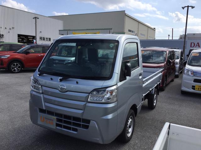 沖縄県の中古車ならハイゼットトラック スタンダードSAIIIt LEDヘッドライト エアコン パワステ ラジオ