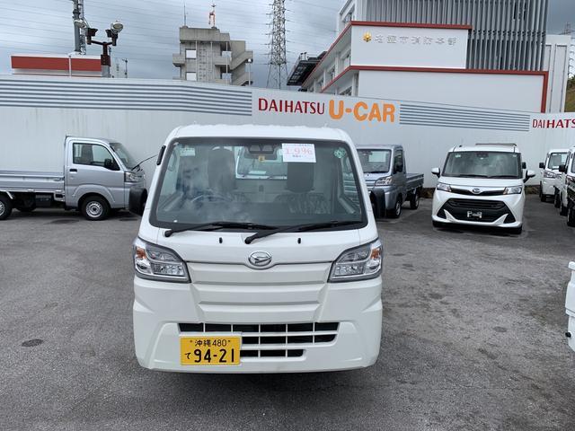 沖縄の中古車 ダイハツ ハイゼットトラック 車両価格 101万円 リ済別 2020(令和2)年 5km ホワイト