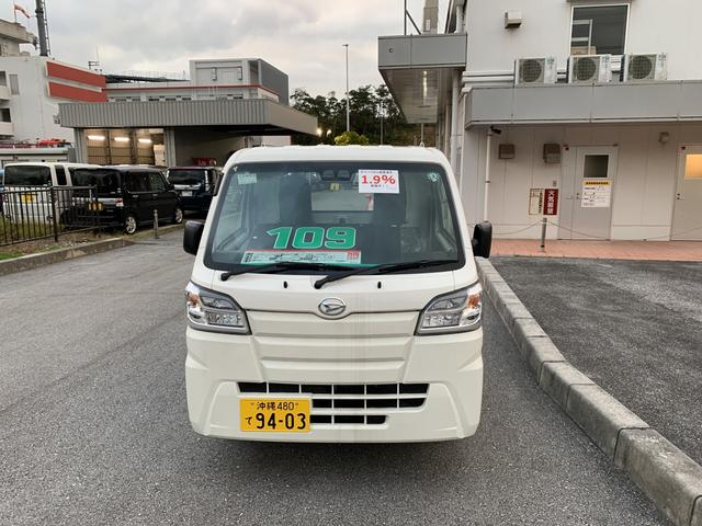 沖縄の中古車 ダイハツ ハイゼットトラック 車両価格 109万円 リ済別 2020(令和2)年 5km ホワイト
