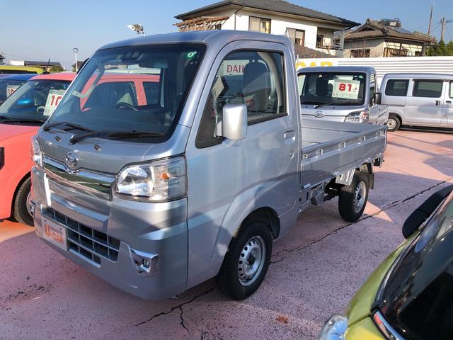 ダイハツ ハイゼットトラック エクストラSAIIIt スマートアシストIIIt搭載 エアコン パワステ パワーウィンド ABS キーレスエントリー