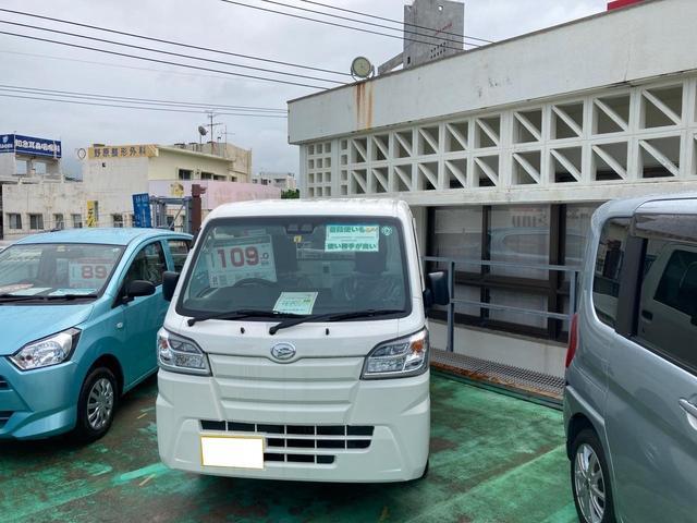 沖縄の中古車 ダイハツ ハイゼットトラック 車両価格 107万円 リ済別 2020(令和2)年 5km ホワイト