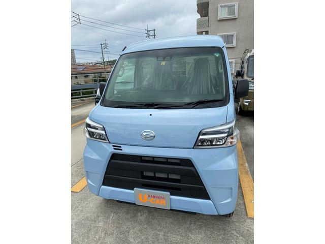 沖縄の中古車 ダイハツ ハイゼットカーゴ 車両価格 120万円 リ済別 2020(令和2)年 5km ミストブルーマイカM