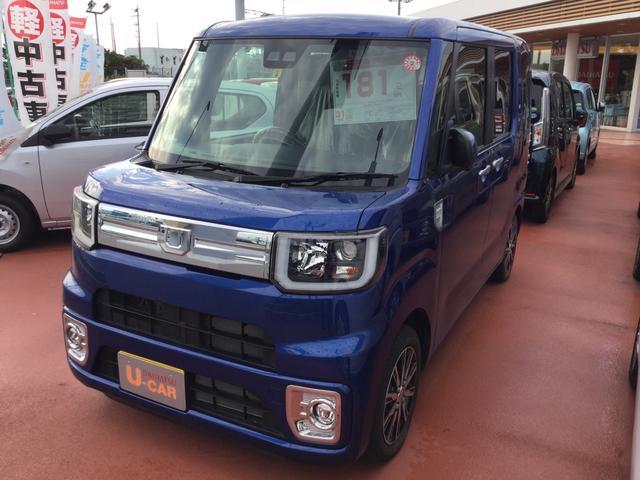 沖縄県浦添市の中古車ならウェイク GターボSAIII