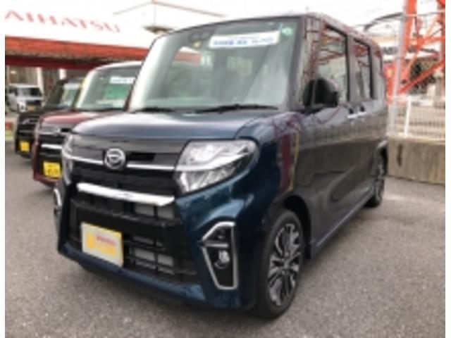沖縄の中古車 ダイハツ タント 車両価格 192万円 リ済別 2020(令和2)年 5km レーザーブルークリスタルシャイン
