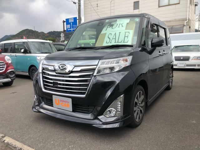 ダイハツ カスタムG ターボ SAII 9インチナビ付・ドラレコ付・パノラマモニター・キーフリー