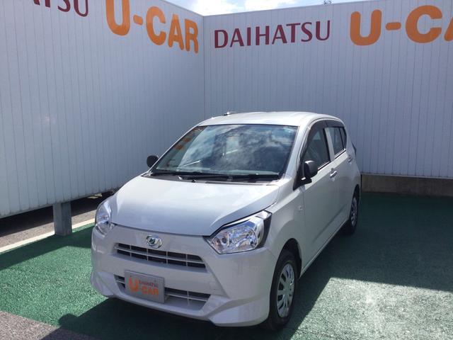 沖縄の中古車 ダイハツ ミライース 車両価格 95万円 リ済別 2020(令和2)年 0.5万km パールホワイト3