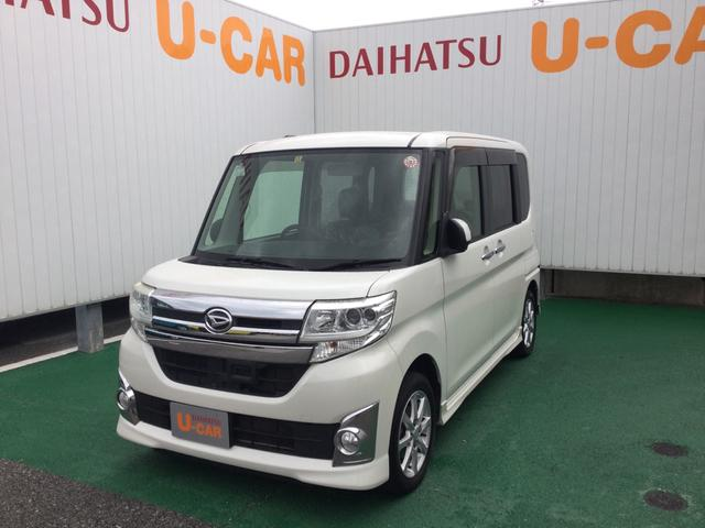 沖縄の中古車 ダイハツ タント 車両価格 88万円 リ済別 2013(平成25)年 9.3万km パールホワイト3