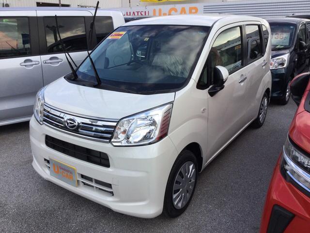 沖縄の中古車 ダイハツ ムーヴ 車両価格 123万円 リ済別 2020(令和2)年 5km パールホワイト3