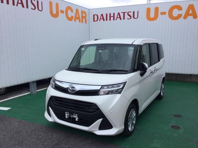 沖縄の中古車 ダイハツ トール 車両価格 155万円 リ済別 2020(令和2)年 0.9万km パールホワイト3