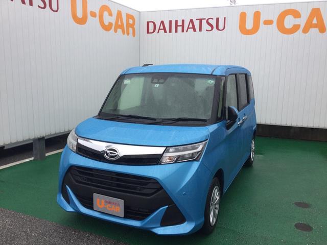 沖縄の中古車 ダイハツ トール 車両価格 153万円 リ済別 2020(令和2)年 0.4万km ファインブルーマイカM
