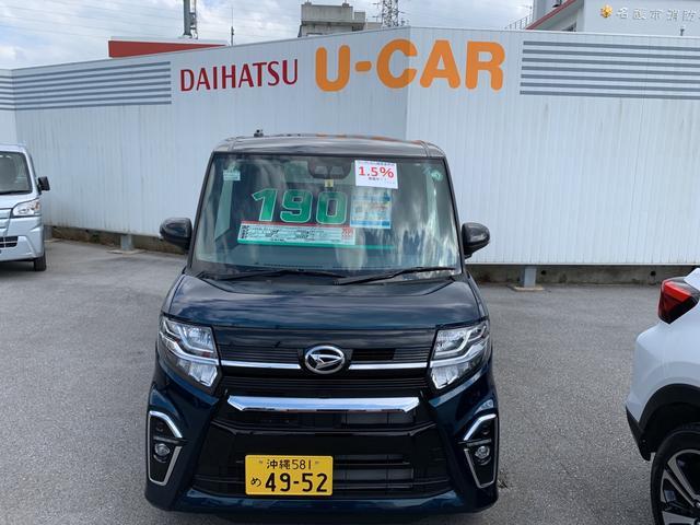 沖縄の中古車 ダイハツ タント 車両価格 190万円 リ済別 2020(令和2)年 4km X07 X B82