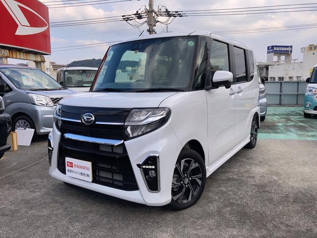 沖縄県の中古車ならタント カスタムXセレクション 両側パワースライドドア 14インチアルミホイール LEDフォグランプ(メッキベゼル付)