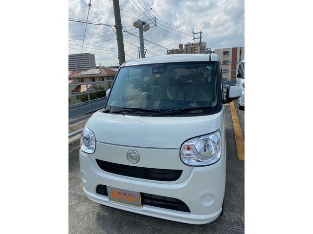 沖縄の中古車 ダイハツ ムーヴキャンバス 車両価格 137万円 リ済別 2020(令和2)年 5km パールホワイト3