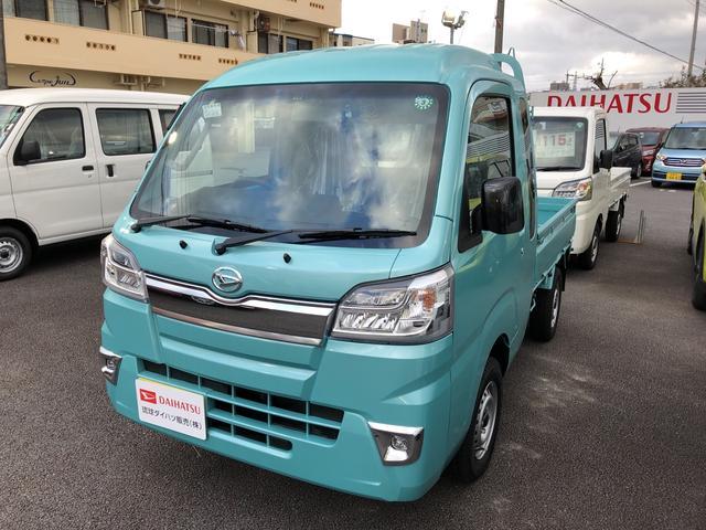 沖縄の中古車 ダイハツ ハイゼットトラック 車両価格 127万円 リ済別 2020(令和2)年 0km ファインミントM