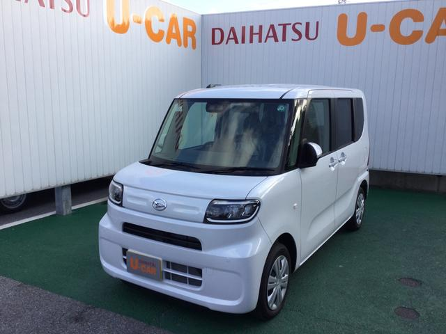 沖縄の中古車 ダイハツ タント 車両価格 128万円 リ済別 2020(令和2)年 23km シャイニングホワイトパール