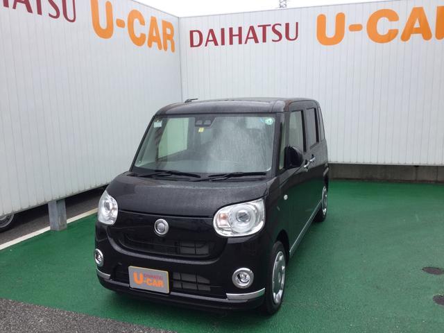 沖縄の中古車 ダイハツ ムーヴキャンバス 車両価格 150万円 リ済別 2020(令和2)年 5km ブラックマイカM